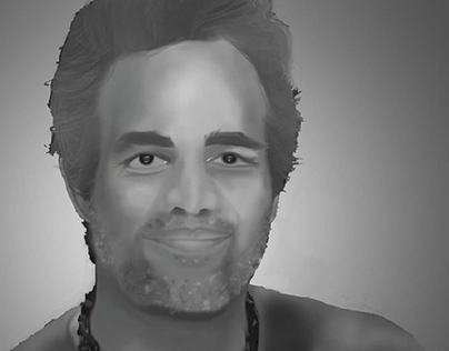 digital painting Mark Ruffalo