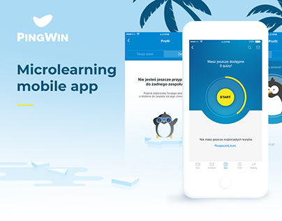 PingWin - microlearning mobile app