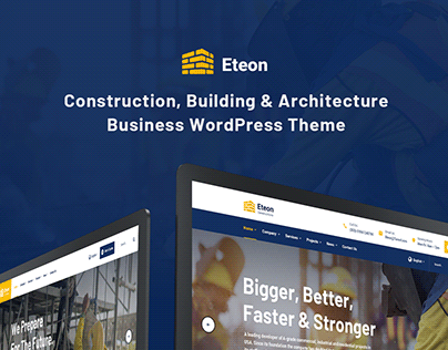 Eteon - Construction And Building WordPress Theme