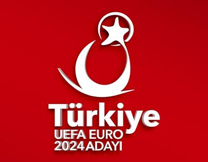 Euro 2024 Adaylığı Logo Çalışması