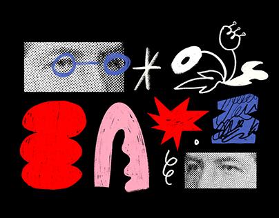 Collage + Digital Illustration