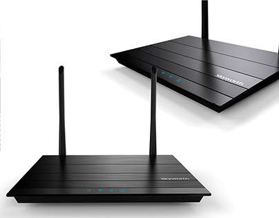 Router design for Skyworth ,mass produced in 2013