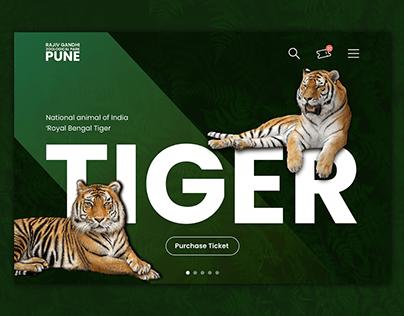 Rajiv Gandhi Zoological Park, Pune   Landing Page