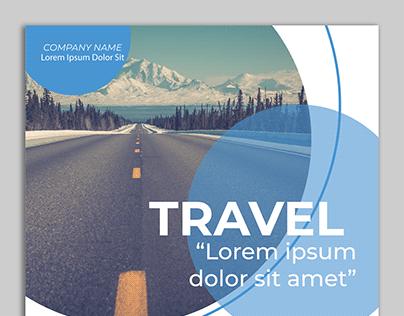 Travel flyer design 2