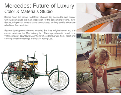 Mercedes: Future of Luxury