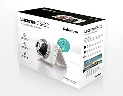 """""""Lucerna"""" / Envase y publicidad"""