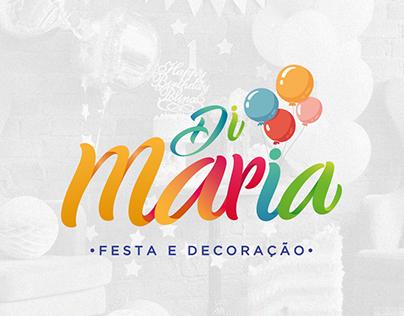 BRANDING   DI MARIA - Festa e Decoração.