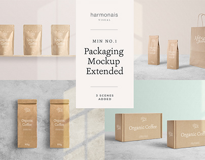 Package Mockup Extended - Min No.1