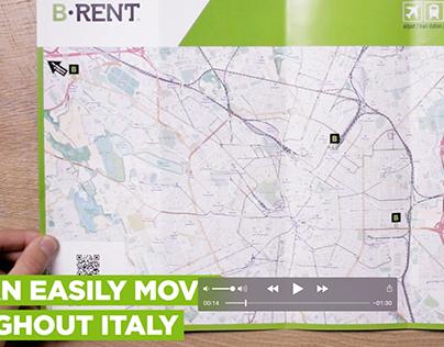 interactive road maps video spot