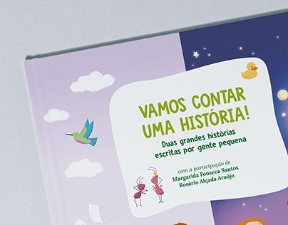 Livro Infantil . Vamos Contar uma História