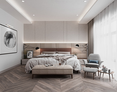 Master Luxury Bedroom