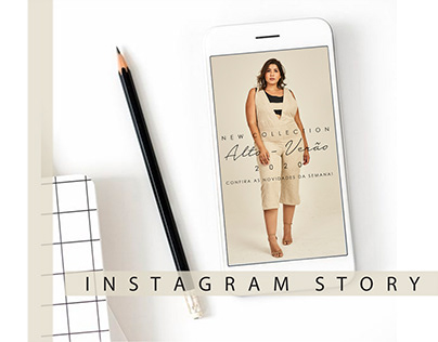 Instagram Story - Lenner Plus Size #1