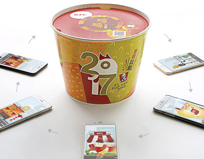 KFC Golden Fortune Bucket