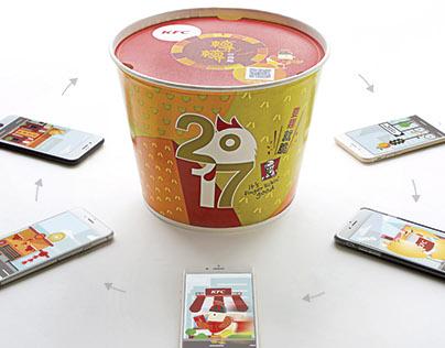 KFC Golden Fortune Bucket