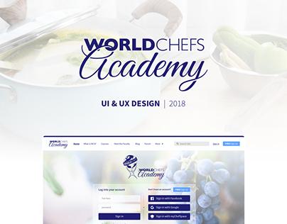 World Chefs Academy | UI/UX 2018