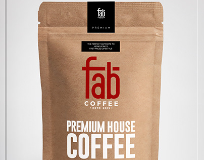 FabCoffee PremiumHouse -ProductLabel