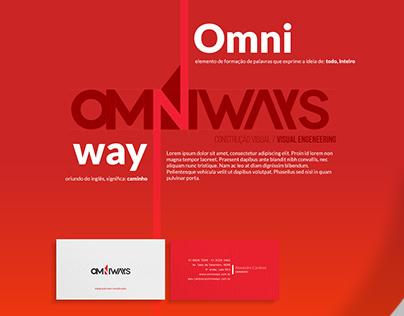Omniways - Apresentação de marca simples.