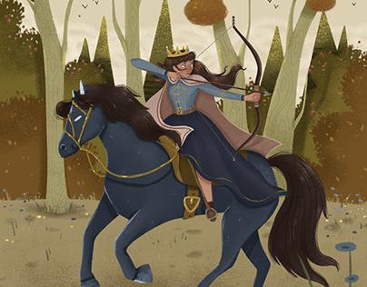 The fighting princess