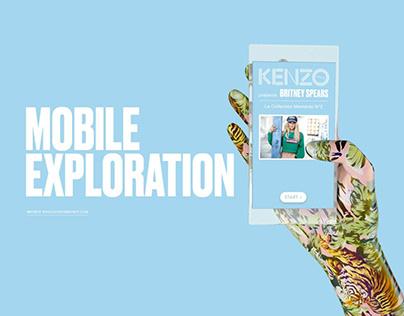 Kenzo Mobile Exploration