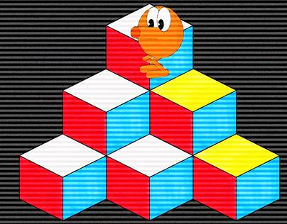 Q*Bert DUIK Animation 01