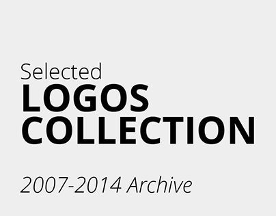 Logos Collection selected from 2007-2014 archive
