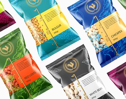 Grains & Seeds Packaging Design