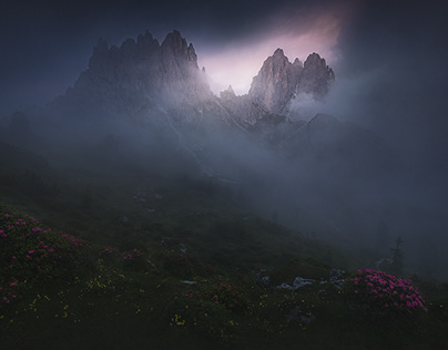 Misty Mountains - Summer in the Dolomites Vol. I