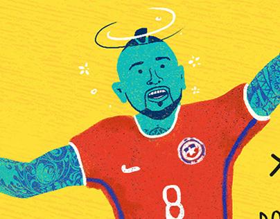 Ilustraciones Fútbol