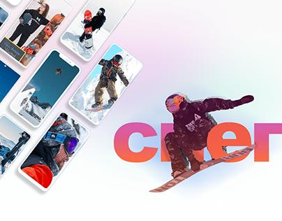 Многостраничный сайт: Платформа обучения сноубордистов