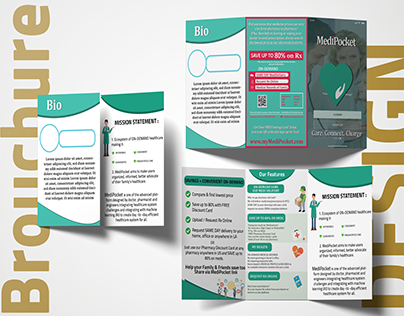 Brochure Design For MediPocket App