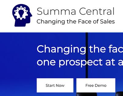 Summa Central Website and Logo Design