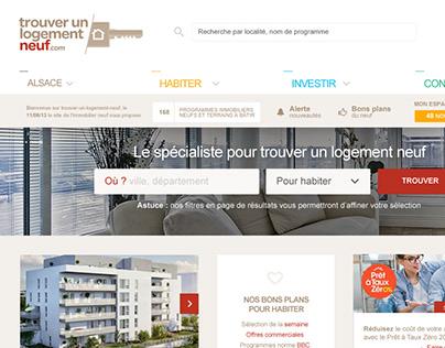 Trouver un logement neuf