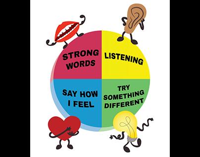 Grab the Wheel Curriculum Illustrations