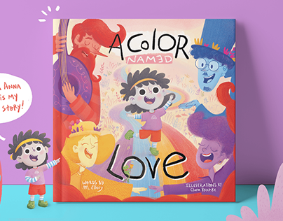 A Color Named Love - Children's Book
