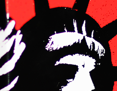 American Psycho by Bret Easton Ellis. Cover Design.