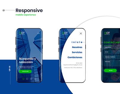 Design website UX-UI experience
