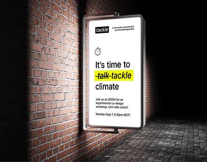 tackle brand & co-design workshop