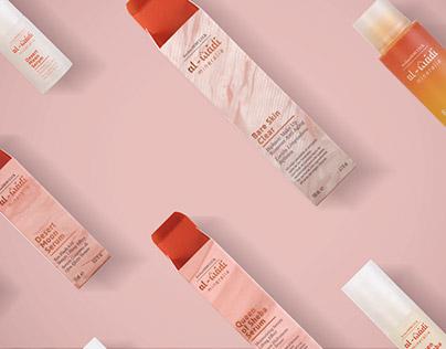 Al-wadi Mineralia — Cosmetic packaging