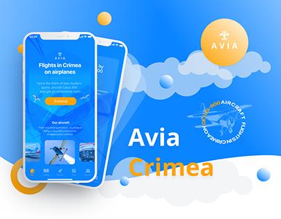 AVIA Crimea — air excursion app