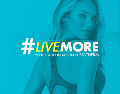 Biotherm #LIVEMORE