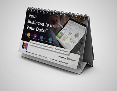 2020 Desktop Calendar Design