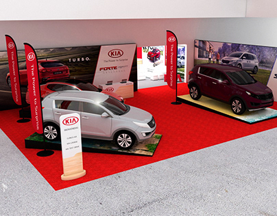 KIA FORMULA M Stand and Test Drive