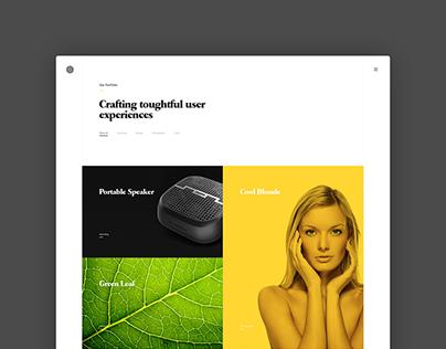 Enfolio Portfolio Theme
