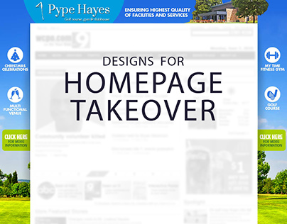 Homepage Takeover (HPTO)