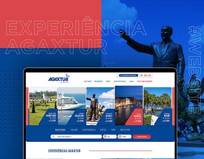 Agaxtur Web site