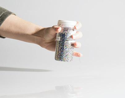 a study of glitter