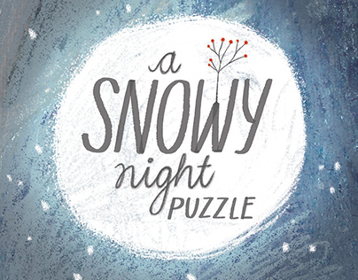 A Snowy Night - puzzle