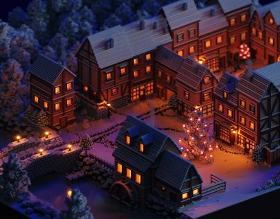Snowy Village 2019
