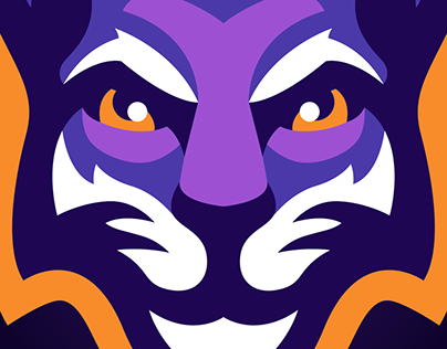 WILDCATS Mascot Logo, FOR SALE!