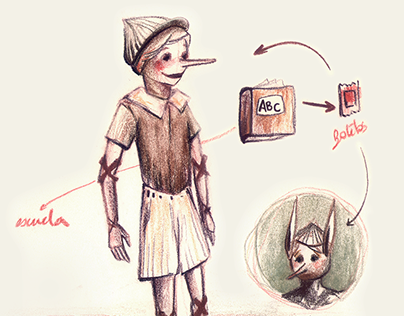 Pinocchio: character design